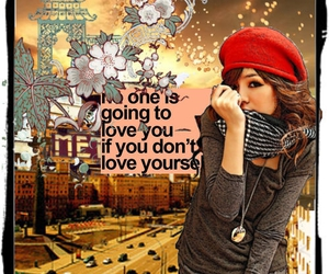 Collage, girl, and quotes image