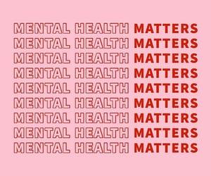 feelings, mental health, and pink image