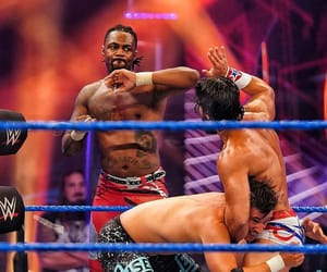 wwe, isaiah scott, and tony nese image