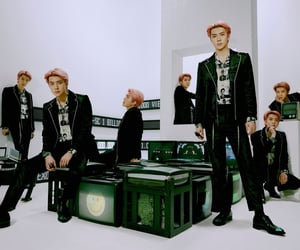 exo, sehun wallpaper, and kpop image