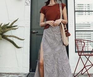 maxi skirt image
