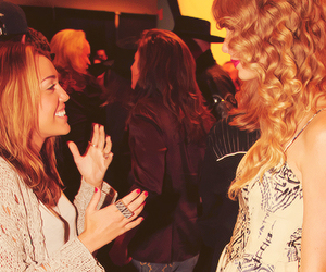 miley cyrus, Taylor Swift, and beautiful image