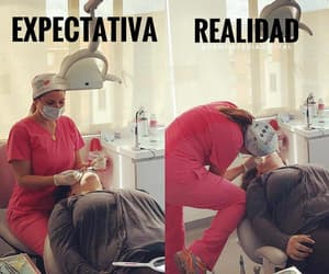 college, dentist, and expectation image