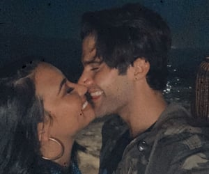 demi lovato, max ehrich, and instagram image