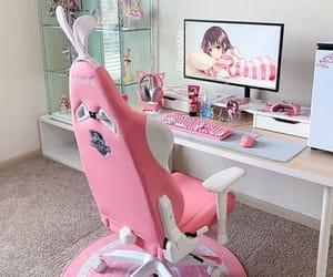 gamer, kawaii, and pink image