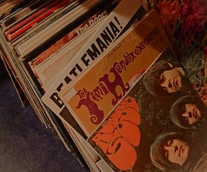 70s, aesthetic, and records image