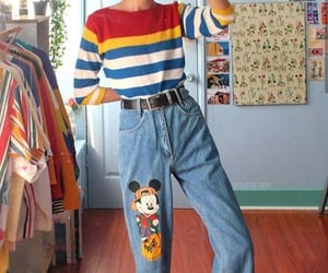 aesthetic, colorful, and aesthetic outfit image