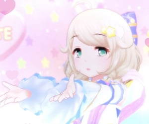 angel, pink, and idolmaster image