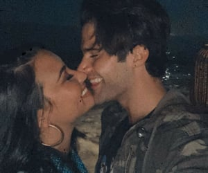 demi lovato, smile, and max ehrich image