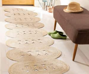 etsy, braided area rug, and 2x10 ft rug runner image