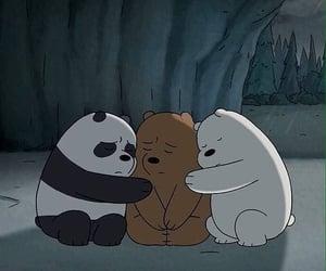 animation, cartoon network, and bears image