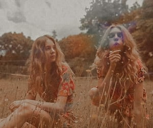 70s, aesthetic, and hippie girls image