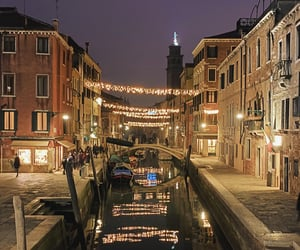 aesthetic, fairylights, and italy image