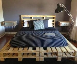 pallet bed plans, pallet bed ideas, and diy pallet bed image