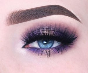 brow, lashes, and makeup image