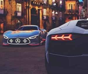 aesthetic, sport car, and supercars image