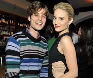 matthew gray gubler and dianna agron image