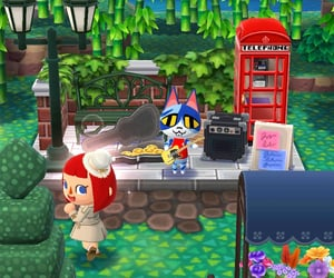 animal crossing, tristán, and pocket camp image