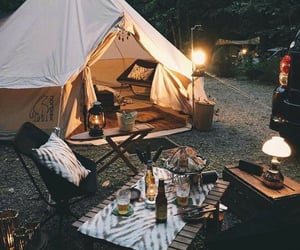 adventure, camping, and chillin image