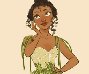 fanart, the Princess and the frog, and tiana image