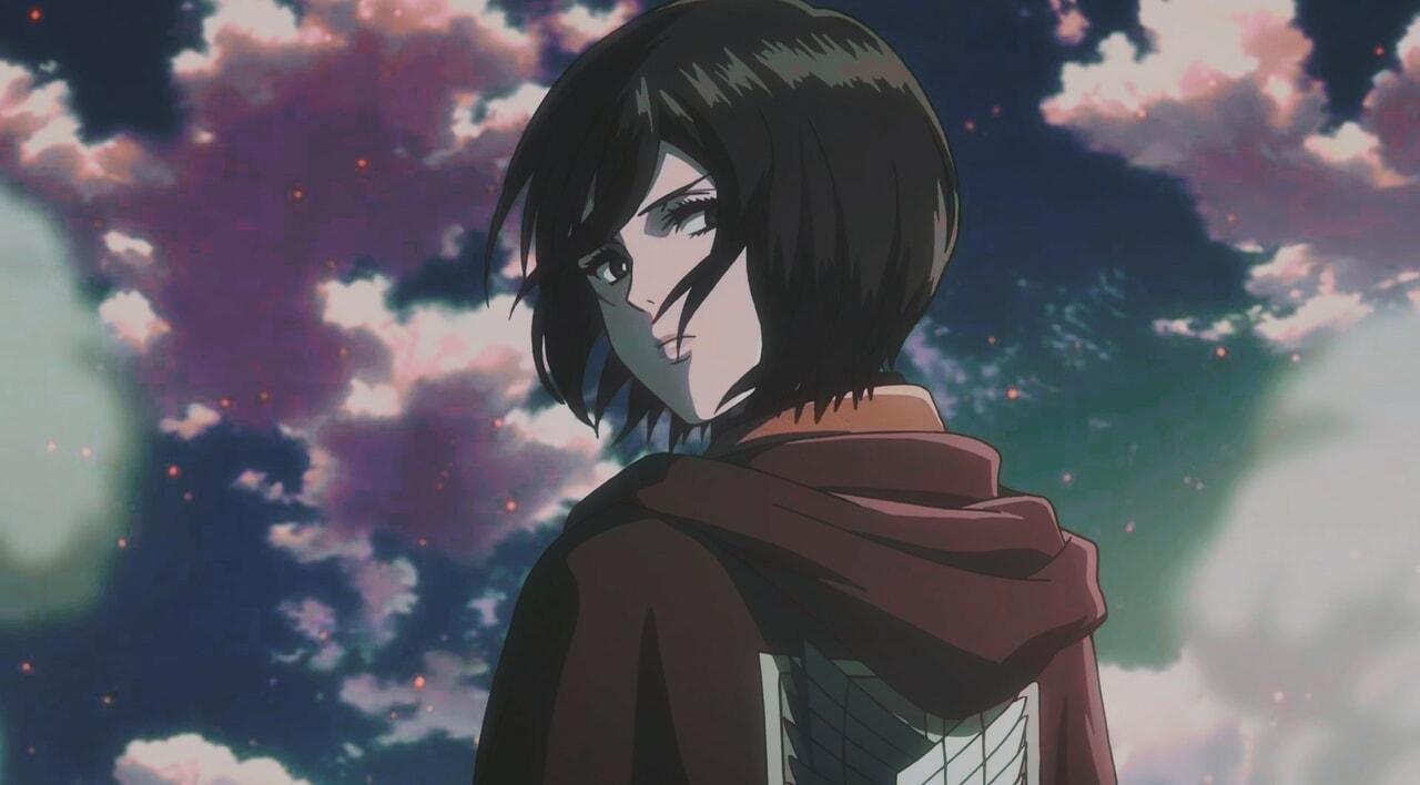 mikasa, anime, and attack on titan image