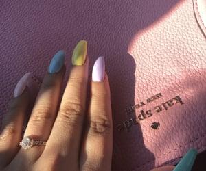 fashion, mani, and nails image
