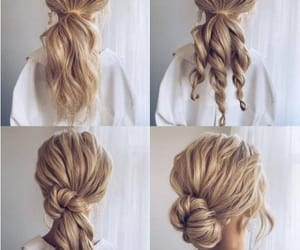 messy buns, tails, and bridal braids image
