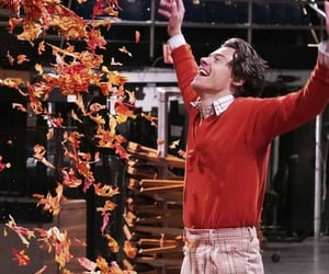 Harry Styles, snl, and autumn image