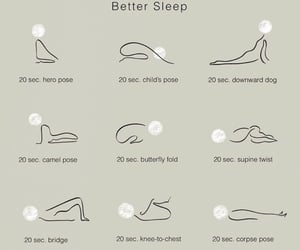 yoga and better sleep image