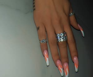 nails, goal on fleek summer, and nails art image