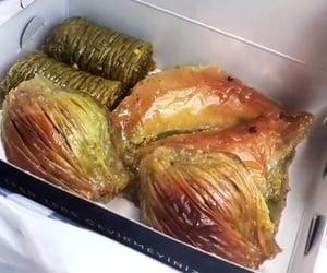 baklava, foodporn, and instafood image