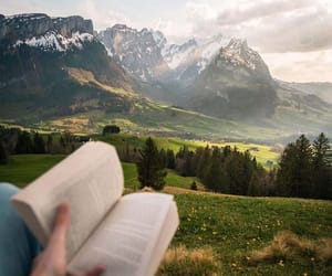 book, nature, and Dream image