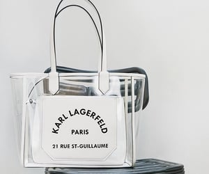 bag, fashion, and karl lagerfeld image