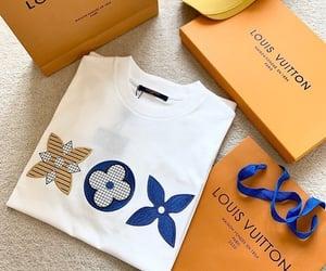 fashion, Louis Vuitton, and t-shirt image