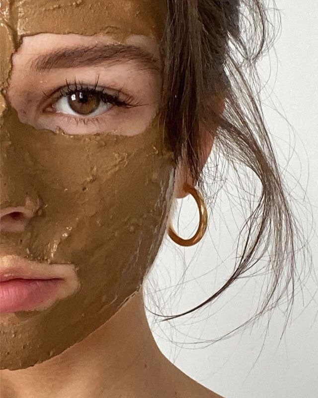 girl, mask, and skin care image