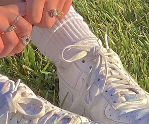aesthetic, nike, and rings image