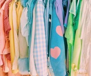blue, closet, and pastel image