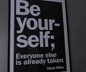 artist, be yourself, and writer image