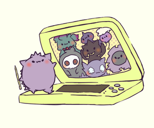 pokemon, kawaii, and gengar image