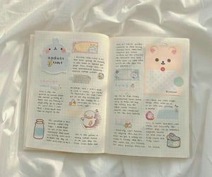 aesthetic, pastel, and planner image