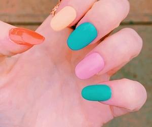 acrylics, nail polish, and pastel image