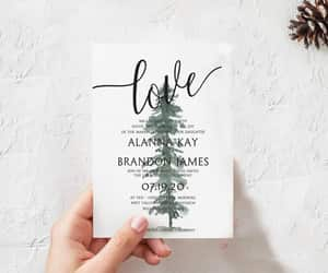 etsy, diywedding, and invitationtemplate image