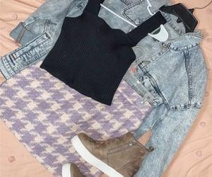 denim jacket, fashion, and forever 21 image