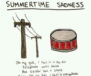 air, scare, and summertime sadness image