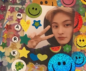 mark, rainbowcore, and nct image