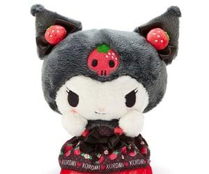 kuromi, sanrio, and hello kitty image
