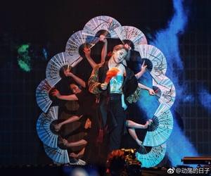 fan dance, bts, and vmin image