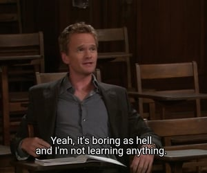 Barney Stinson, himym, and ted mosby image