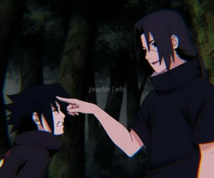 anime, icon, and itachi image