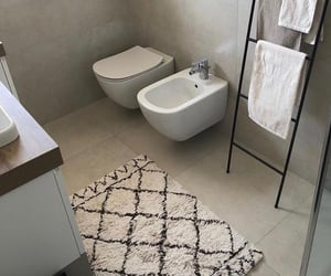 apartment, bathroom, and toilet image